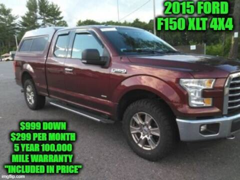 2015 Ford F-150 for sale at D&D Auto Sales, LLC in Rowley MA