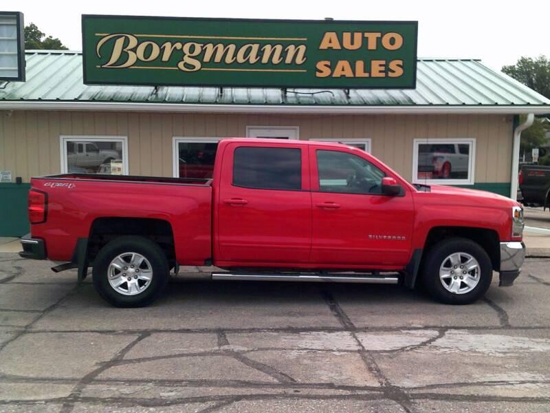2016 Chevrolet Silverado 1500 for sale at Borgmann Auto Sales in Norfolk NE