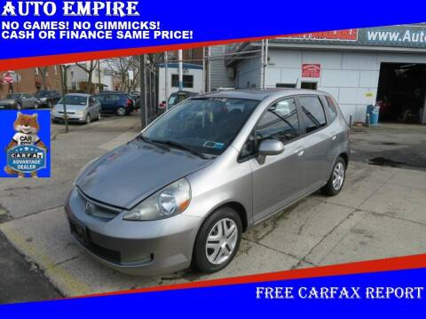 2007 Honda Fit for sale at Auto Empire in Brooklyn NY