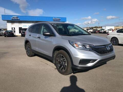 2016 Honda CR-V for sale at BULL MOTOR COMPANY in Wynne AR