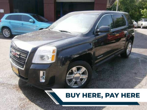2012 GMC Terrain for sale at WESTSIDE AUTOMART INC in Cleveland OH