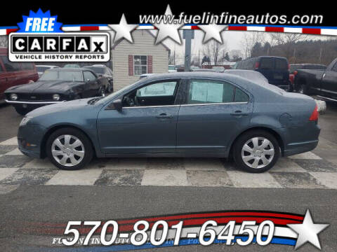2011 Ford Fusion for sale at FUELIN FINE AUTO SALES INC in Saylorsburg PA