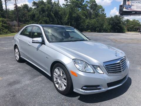 2012 Mercedes-Benz E-Class for sale at GOLD COAST IMPORT OUTLET in St Simons GA