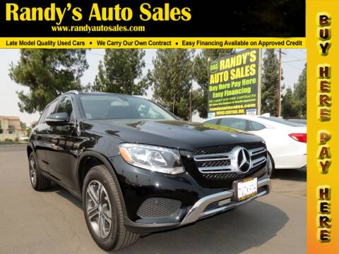 2017 Mercedes-Benz GLC for sale at Randy's Auto Sales in Ontario CA