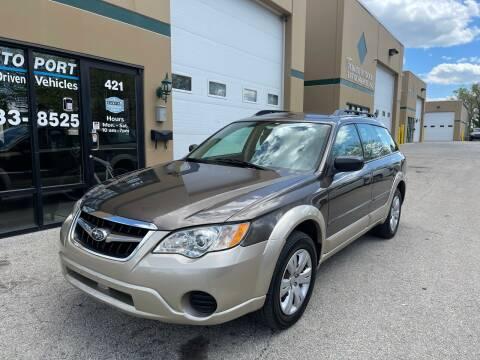 2008 Subaru Outback for sale at REDA AUTO PORT INC in Villa Park IL