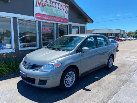 2008 Nissan Versa for sale at Martins Auto Sales in Shelbyville KY