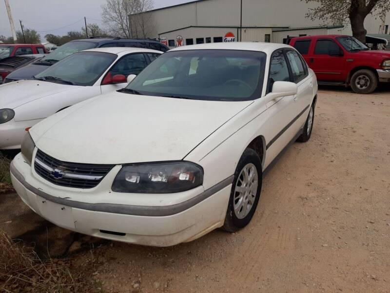 2001 Chevrolet Impala for sale at KK Motors Inc in Graham TX