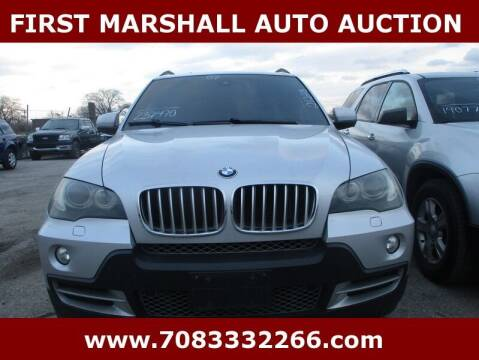 2007 BMW X5 for sale at First Marshall Auto Auction in Harvey IL