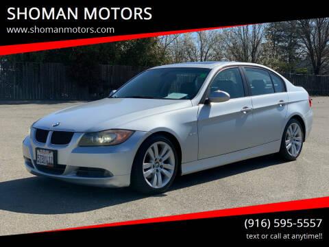 2006 BMW 3 Series for sale at SHOMAN MOTORS in Davis CA