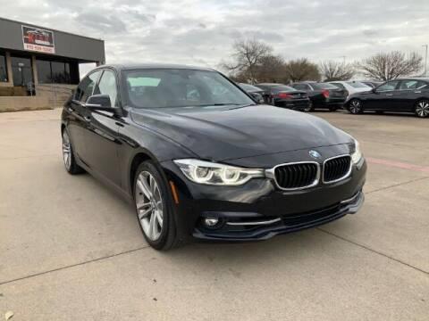 2018 BMW 3 Series for sale at KIAN MOTORS INC in Plano TX