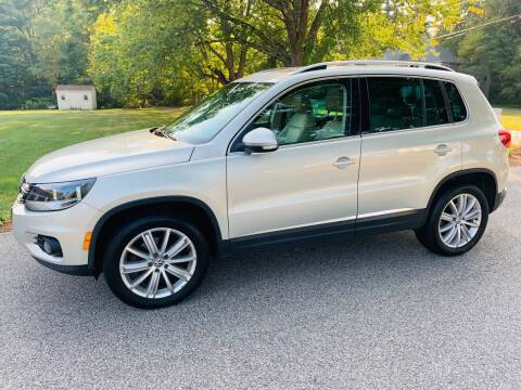 2013 Volkswagen Tiguan for sale at 41 Liberty Auto in Kingston MA