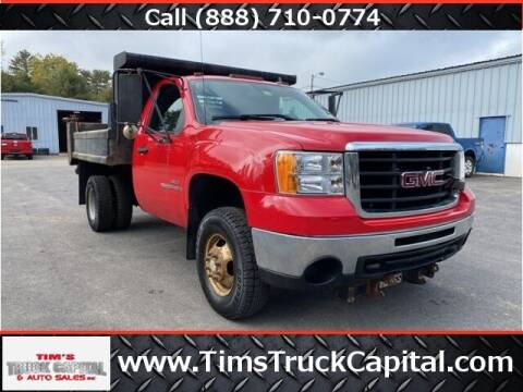 2007 GMC Sierra 3500HD CC for sale at TTC AUTO OUTLET/TIM'S TRUCK CAPITAL & AUTO SALES INC ANNEX in Epsom NH