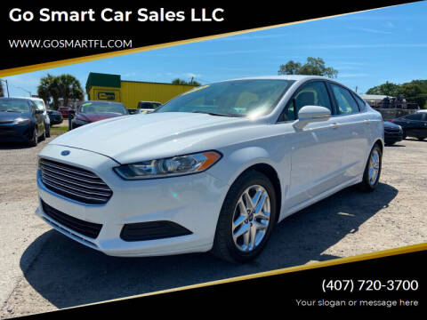 2013 Ford Fusion for sale at Go Smart Car Sales LLC in Winter Garden FL