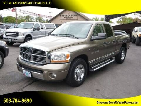 2006 Dodge Ram Pickup 2500 for sale at Steve & Sons Auto Sales in Happy Valley OR
