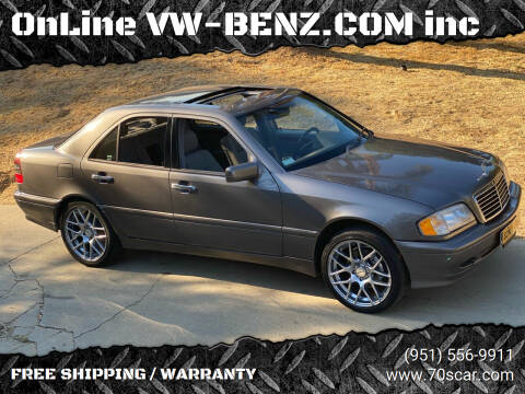1999 Mercedes-Benz C-Class for sale at OnLine VW-BENZ.COM Auto Group in Riverside CA