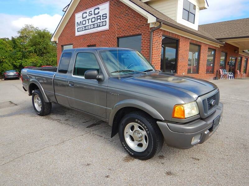 2004 Ford Ranger for sale at C & C MOTORS in Chattanooga TN