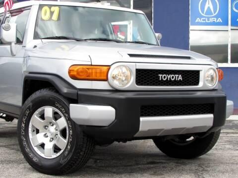 2007 Toyota FJ Cruiser for sale at Orlando Auto Connect in Orlando FL