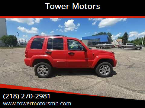 2004 Jeep Liberty for sale at Tower Motors in Brainerd MN