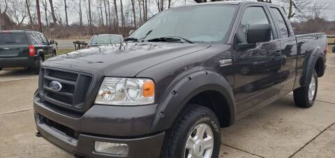 2005 Ford F-150 for sale at Kachar's Used Cars Inc in Monroe MI