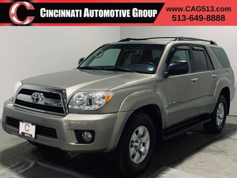2007 Toyota 4Runner for sale at Cincinnati Automotive Group in Lebanon OH