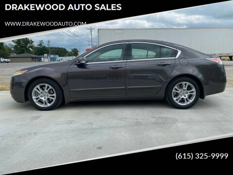2010 Acura TL for sale at DRAKEWOOD AUTO SALES in Portland TN