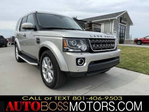 2016 Land Rover LR4 for sale at Auto Boss in Woods Cross UT
