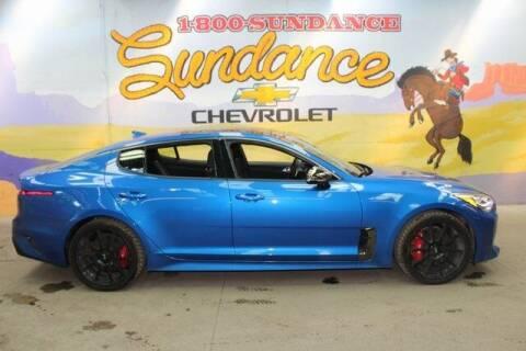 2020 Kia Stinger for sale at Sundance Chevrolet in Grand Ledge MI
