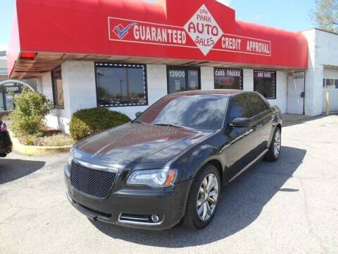 2014 Chrysler 300 for sale at Oak Park Auto Sales in Oak Park MI