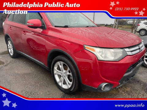 2015 Mitsubishi Outlander for sale at Philadelphia Public Auto Auction in Philadelphia PA