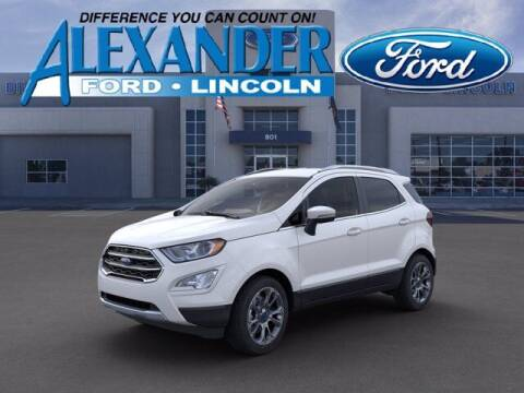 2021 Ford EcoSport for sale at Bill Alexander Ford Lincoln in Yuma AZ