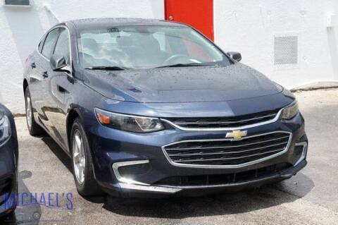 2016 Chevrolet Malibu for sale at Michael's Auto Sales Corp in Hollywood FL