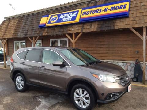 2014 Honda CR-V for sale at MOTORS N MORE in Brainerd MN