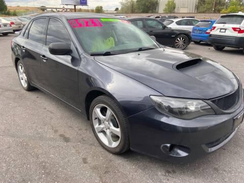 2008 Subaru Impreza for sale at BELOW BOOK AUTO SALES in Idaho Falls ID
