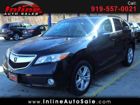 2014 Acura RDX for sale at Inline Auto Sales in Fuquay Varina NC
