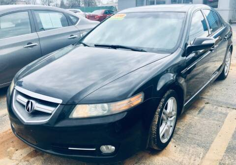 2008 Acura TL for sale at RD Motors, Inc in Charlotte NC