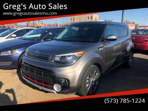 2018 Kia Soul for sale at Greg's Auto Sales in Poplar Bluff MO