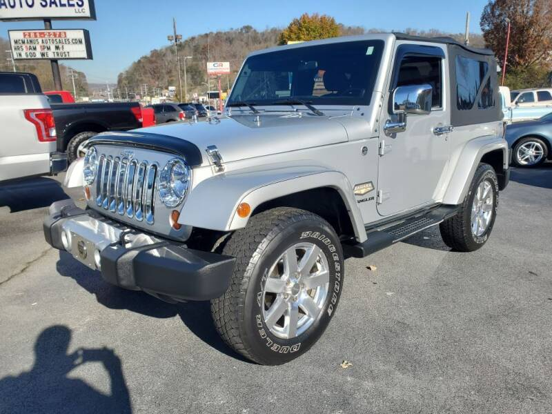 2012 Jeep Wrangler for sale at MCMANUS AUTO SALES in Knoxville TN