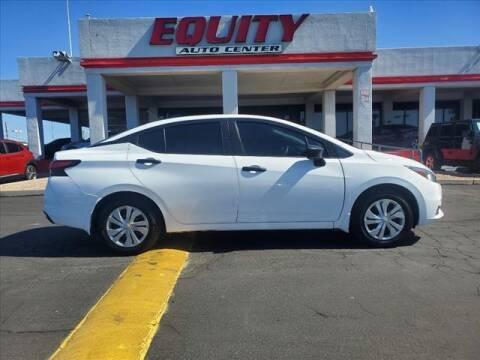 2021 Nissan Versa for sale at EQUITY AUTO CENTER in Phoenix AZ