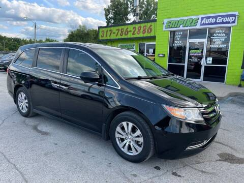 2015 Honda Odyssey for sale at Empire Auto Group in Indianapolis IN