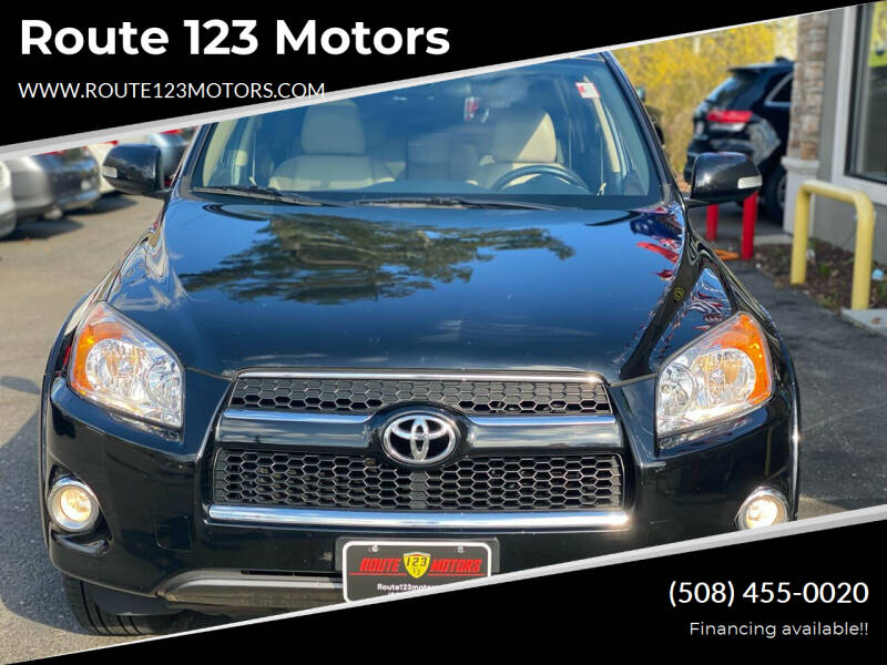 2011 Toyota RAV4 for sale at Route 123 Motors in Norton MA