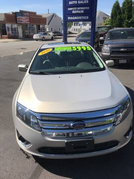 2010 Ford Fusion for sale at Ramstroms Service Center in Worcester MA