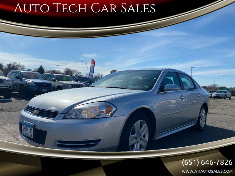 2011 Chevrolet Impala for sale at Auto Tech Car Sales in Saint Paul MN