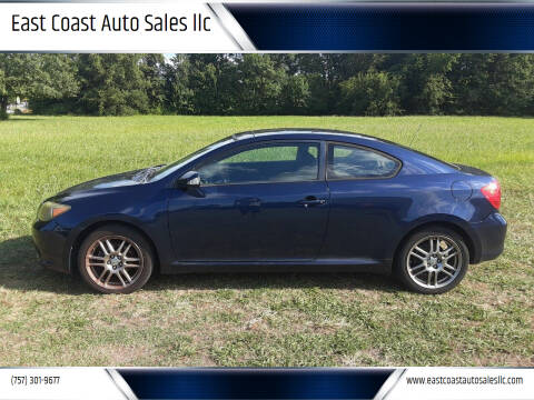 2007 Scion tC for sale at East Coast Auto Sales llc in Virginia Beach VA