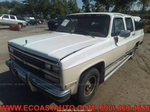 1989 Chevrolet Suburban for sale at East Coast Auto Source Inc. in Bedford VA
