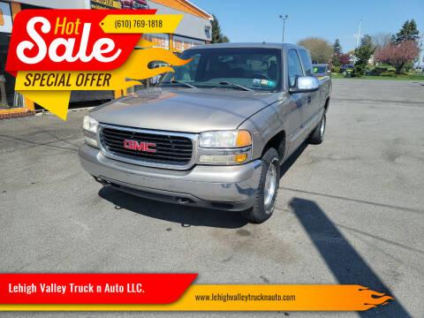 2002 GMC Sierra 1500 for sale at Lehigh Valley Truck n Auto LLC. in Schnecksville PA