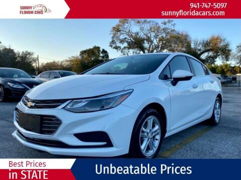 2018 Chevrolet Cruze for sale at Sunny Florida Cars in Bradenton FL