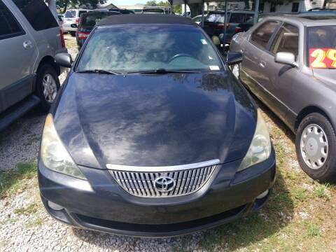 2006 Toyota Camry Solara for sale at Webb's Automotive Inc 11 in Morehead City NC