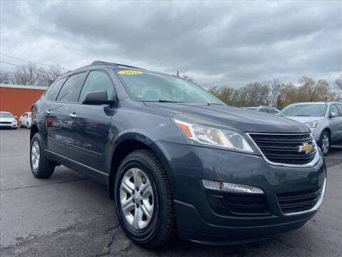 2013 Chevrolet Traverse for sale at HUFF AUTO GROUP in Jackson MI