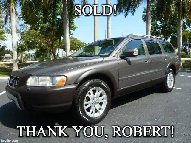 2007 Volvo XC70 for sale at VehicleVille in Fort Lauderdale FL