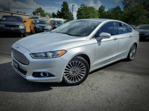 2013 Ford Fusion for sale at Northwest Premier Auto Sales in West Richland And Kennewick WA